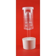 Rubber Bung 28/26mm + 3 Piece Plastic Airlock