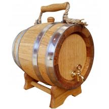 Oak Barrel with Handle - 5L