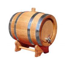 Wooden Barrel 10L – Oak Barrel 10L
