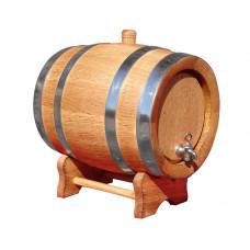 Wooden Barrel 2L – Oak Barrel 2L