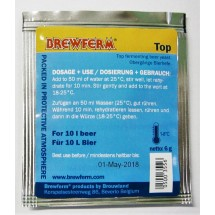 Brewferm Beer Yeast – Top Fermenting 6g