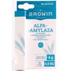 Alpha Amylase Enzyme 4g BROWIN