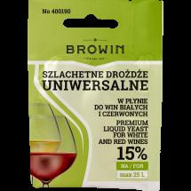 Liquid Wine Yeast Browin - Universal 20ml