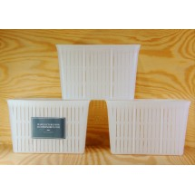 3 x Cheese Mould 1.5kg - 16x12x11cm