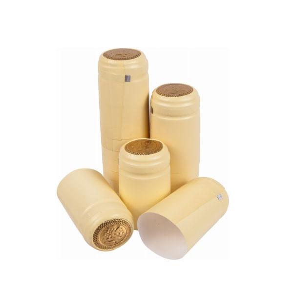 100 PVC-Weinflaschen-Schrumpfkapseln