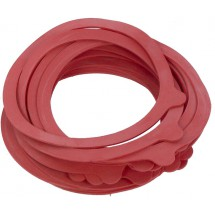Jar Rubber Seal Rings 20pcs - Red