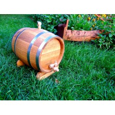 Wooden Barrel 5L – Oak Barrel 5L