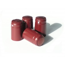 Shrink Caps - Burgundy - 30pcs