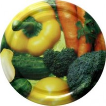 Jar Lids 10pcs 82 mm - Vegetables