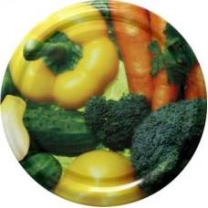 Jar Lids 10pcs 82 mm - Vegetables