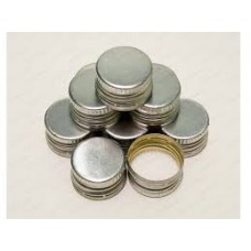Screw Bottle Caps SILVER – 26mm