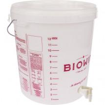 Fermenter with handle 15L + Lid + Plastic Tap
