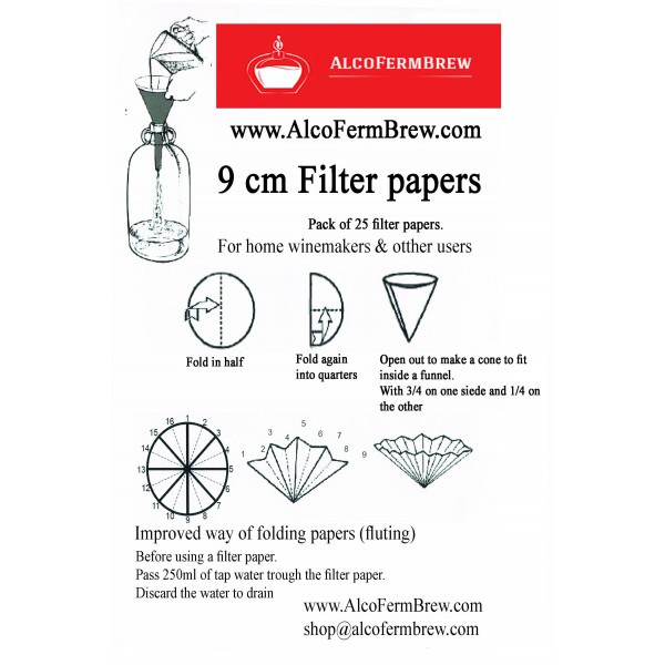 filter papers wine filter filter papers spirit filters round