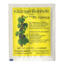 Kitzinger Dried Wine Yeast - ALL PURPOSE YEAST