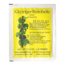 Kitzinger Dried Wine Yeast - BEAUJOLAIS
