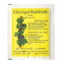 Kitzinger Dried Wine Yeast - BORDEAUX