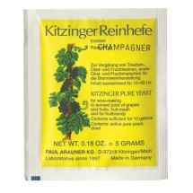 Kitzinger Dried Wine Yeast - CHAMPAGNE