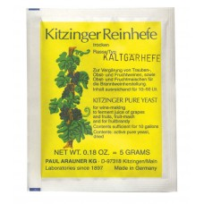 Kitzinger Dried Wine Yeast - LOW TEMPERATURE