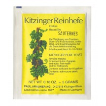 Kitzinger Dried Wine Yeast - SAUTERNES