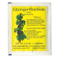 Kitzinger Dried Wine Yeast - TOKAY