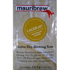 Mauribrew Brewing Yeast – Lager 497