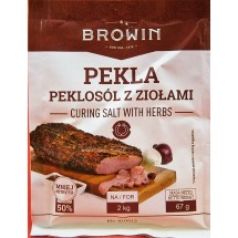 Pekla - curing salt with herbs