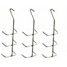 Hooks for Smoking Fish Fillets x 3