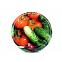 Jar Lids 10pcs 63mm – Cucumbers