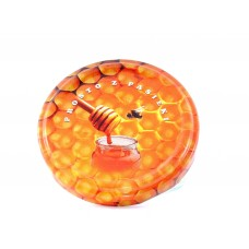 Jar Lids 10pcs 63mm – Honey