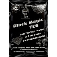 Black Magic TC6 - Turbo Pure Yeast with Carbon