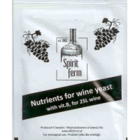 Nutrients for Wine Yeast 10g