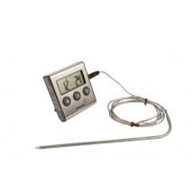Digital Food Thermometer with Probe and Timer  250°C