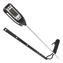 Digital Thermometer -50°C to 300°C – Black