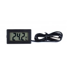 Electronic Thermometer with Probe on cable 100cm