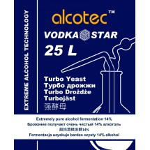 Alcotec Turbo Yeast - Vodka Star