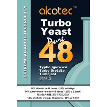 Alcotec Turbo Yeast - Pure 48