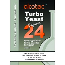 Alcotec Turbo Yeast - Express 24 Pure