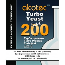 Alcotec Turbo Yeast - Batch 200