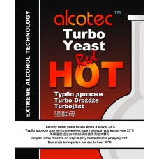 Alcotec Turbo Yeast - Red Hot