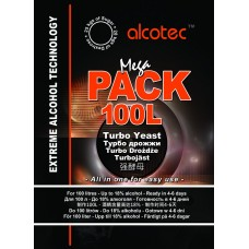 Alcotec Turbo Yeast - Mega Pack 390g