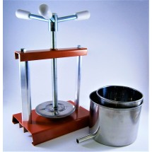Stainless Steel Cheese Press 2 L